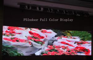 China 160*160mm P5mm Stadium Led Display For TV Station , Anti-Corrosion on sale