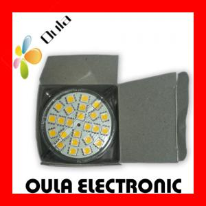 China Anti Shock 110V ~ 220v MR16  LED Spot Lamps 3W With 24 Pieces 5050 leds For Store on sale