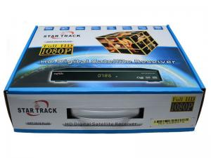 China HD DVB S2 Digital Satellite Receiver Star Track SRT Full 1080p 3G SCART on sale