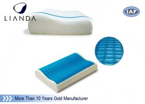 China Air conditioning memory foam cooling gel bed pillow eco - friendly on sale