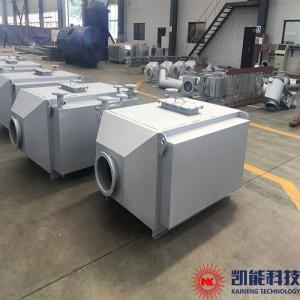 China Finned Tube Generator Set Waste Heat Boiler / Exhaust Gas Hot Water Boiler 500 KW on sale