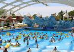 Surfing Wave Pool With Simulated Surfing Machine For The Attractive Water Park Wave Pool