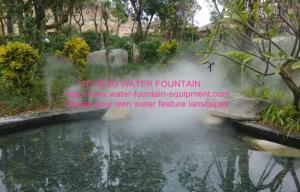 China Artificial Fog Water Fountain Project Cold Fogging Machine For Making Mist on sale