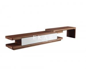 China Latest Designer Furniture Oak Wood Extendable Tv Stand KSL-TV001 on sale