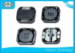 China Ferrite SMD Wire Wound Power Inductor Gray / Black High Q value ROHS Certification on sale