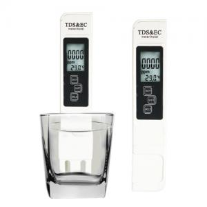China 3 In 1 TDS EC Meter With Backlight Screen Low Power Consumption Micro Smart Chip on sale