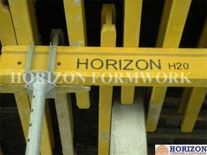 China Q235 Steel Plate Concrete Forming Accessories Four Way Forkhead Box For Holding H20 Beams on sale
