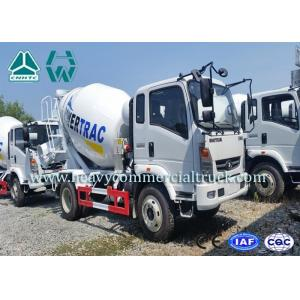 China 10 CBM High Efficient Small Electric Concrete Mixer Truck Anti Leakage Groove on sale