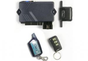 China Car door arming delay, search GSM / GPS by the module 2 Way Paging Car Alarm on sale
