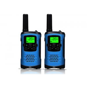 ABS Material Handheld Walkie Talkie Radios Easy To Use For Sports / Travel