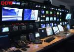 Large Indoor CCTV Video Wall With 2 X HDMI Input , DVI Input , VGA Input