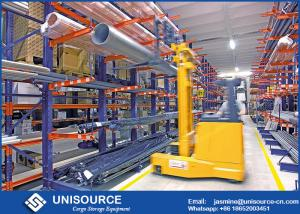 China Q235 Steel Cantilever Racking Systems , Industrial Pallet Racking With Free Sample on sale