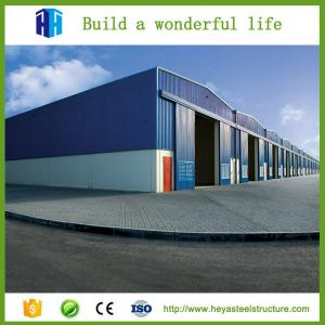 China Low cost industrial shed 5000 square meter steel frame structural workshop on sale