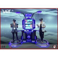 HTC Vive Double Seaters Interactive Vr Simulator For Entertainment Park With Intensely Joyful Games