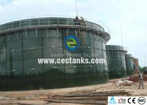 China Glass Fused Steel Bolted Water Storage Tanks Liquid Storage Solutions for 600 K Gallons on sale