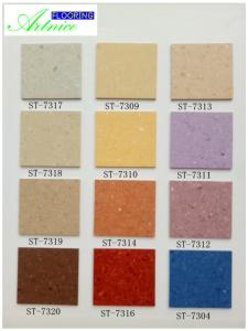 China PVC Flooring , Homogeneous PVC Flooring , Commercial PVC resilient Flooring in roll, 2.0mm*2.0m*20m on sale