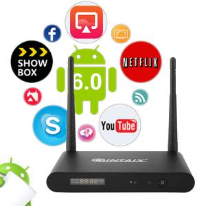 China Amlogic S912 4K HD Android TV Box Quad Core WIFI HDMI xbmc tv box for home on sale