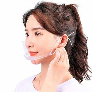 China Slipping Resistant Transparent Plastic Face Mask For SPA on sale