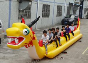 China 10 + Passenger Dragon Inflatable Towable Ski Tube Water Sport Games on sale