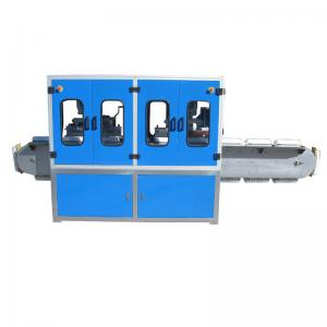 China Automatic 4 color egg box pad printing machine with tank belt on sale