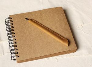 China Wedding Guestbook // Kraft Scrapbook Album // Spiral Bound // Kraft photo album/ wedding g on sale