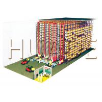 Supply Chain Automated Storage Retrieval System Q235B Material 50mm Adjustable Spacing