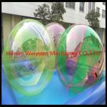 China CE certificate durable  2M  TPU0.8 Colorful Water Walking Ball  with German zip use in shopping mall wholesale