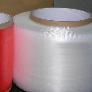China Security PET film acrylic printed adhesive bag sealing tape 14mm x 10000m, spooge tape on sale
