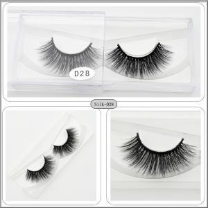 China 1 Pair Natural  False Eyelashes Handmade Cross Long Eye Lashes supplier