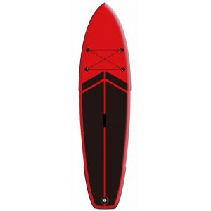 Fishing / Surfing All Around SUP Board , Kids Stand Up Paddle Board Red / Black Color