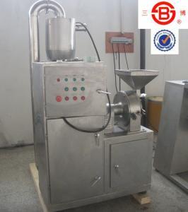 China High Speed spice / herb grinder Grinding Pulverizer Machine 5300rpm shaft speed on sale