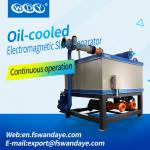 380ACV Oil Cooling Wet High Intensity Magnetic Separator For Feldspar / Clay kaolin ceramic slurry
