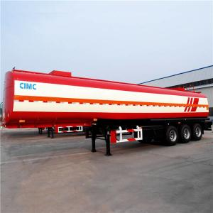 China Tri Axle Oil Tanker Trailer 45CBM Fuel Tanker Trailer for Sale Manfacturer on sale