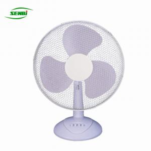 China 12 Volt 24 Volt Solar Table Fan , 16 Oscillating Table Fan Dc Cooler on sale