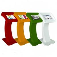 China Multi Function Touch Screen Visitor Management Kiosk 2-3 Years Warranty on sale