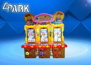 China Fruit Condition Redemption Coin Pusher Game Machine Round Castle Small Train Design on sale