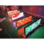 SMD1415 Outdoor P2.5 5000nits Taxi Top Led Screen 450W