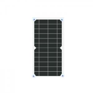 China Semi Flexible Solar Cell Phone Battery Charger 5V 5W High Conversion Efficiency on sale