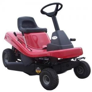 China Gasoline powered lawn mower and Seated mowing car on sale