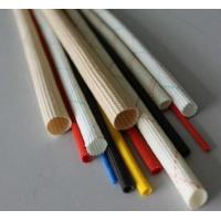 PVC Acrylic Silicone Braided Fiberglass Sleeving For Cable Flame Retardant And Electrical Insulation Glass Fiber Sleeve
