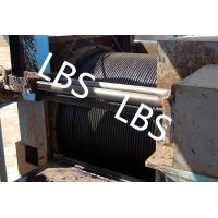 Oil / Petroleum Machinery Anchor Handling Towing Winch With Lebus Drum