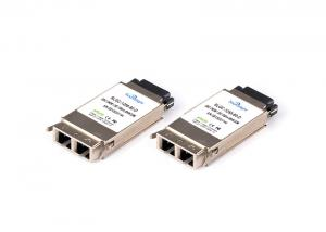 China 1.25g Gbic Compatible SFP Modules Zx 1550nm 80km Sc Smf For Ethernet on sale