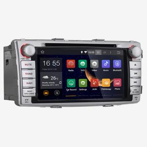 China Toyota Hilux 2012 Car Radio With DVD Player DDR 3 1G FCC / ROHS on sale