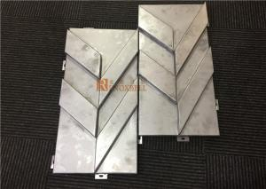 China Special Made Tree Pattern Aluminum Architecture Panels with Mill Finished on sale