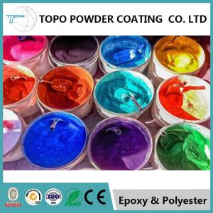 China Switchboards Epoxy Polyester Coating , RAL 1021 Colza Yellow Excellent Powder Coating on sale