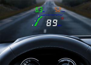 China High - Definition 4  Obd2 Heads Up Display T100 OBD2 Interface High Temperature Alarm on sale
