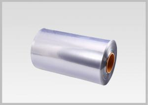 China 40 MIC Transparent Blown PVC Shrink Film For Shrink Sleeve Label on sale