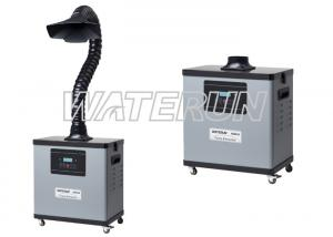 China Mobile 110 V Benchtop Solder Fume Extractor For Air Purifying , Fume Extraction System on sale