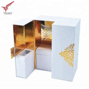 China Soft Touch Paper Perfume Cosmetic Packaging Box High end Luxury Perfume Box on sale