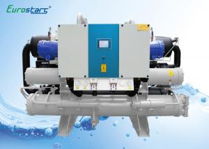 China Hanbell Screw Compressor Water Cooled Water Chiller For Indoor Installation on sale